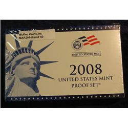50. 2008 U.S. Proof Set. Original as issued. CDN Bid is $56.00.