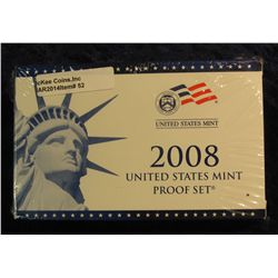 52. 2008 U.S. Proof Set. Original as issued. CDN Bid is $56.00.