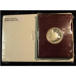 "346. U.S. Mint box containing 2006 P & D Original BU Rolls of ""Jefferson Reverse Head Nickel"" Set; &"