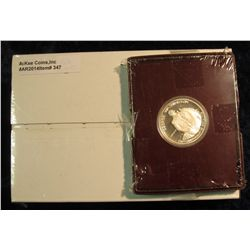 "347. U.S. Mint box containing 2005 P & D Original BU Rolls of ""Ocean View Westward Journey"" Nickels"