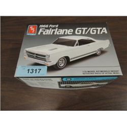 AMT ERTL 1966 FORD FAIRLANE GT PLASTIC MODEL KIT