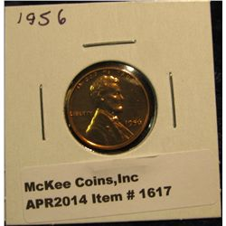 1617.   1956 Proof Lincoln Wheat Cent