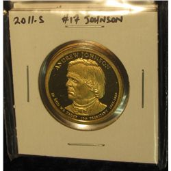 1776.   Set of 4 2011-S Presidential Dollars