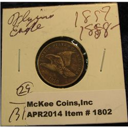 1802. 1858 U.S. Flying Eagle Cent. F.