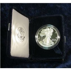 902.  1996 Proof American Silver Eagle in Original Packaging with COA as issued