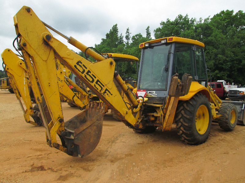 Ford 555 Backhoe Air Cleaners : Ford new holland e loader backhoe s n  mp