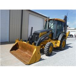 JOHN DEERE 410J 4X4 LOADER BACKHOE, S/N T0410JX150816 (07 YR) EXTENDAHOE, MULTI-PURPOSE BUCKET, 24""