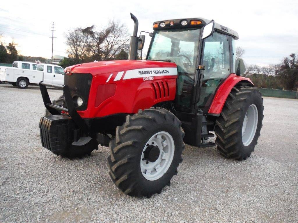 massey ferguson 5465 4x4 farm tractor s n t009042 08 yr 100 hp dyna 4 trans 3 pth pto 3 hyd. Black Bedroom Furniture Sets. Home Design Ideas