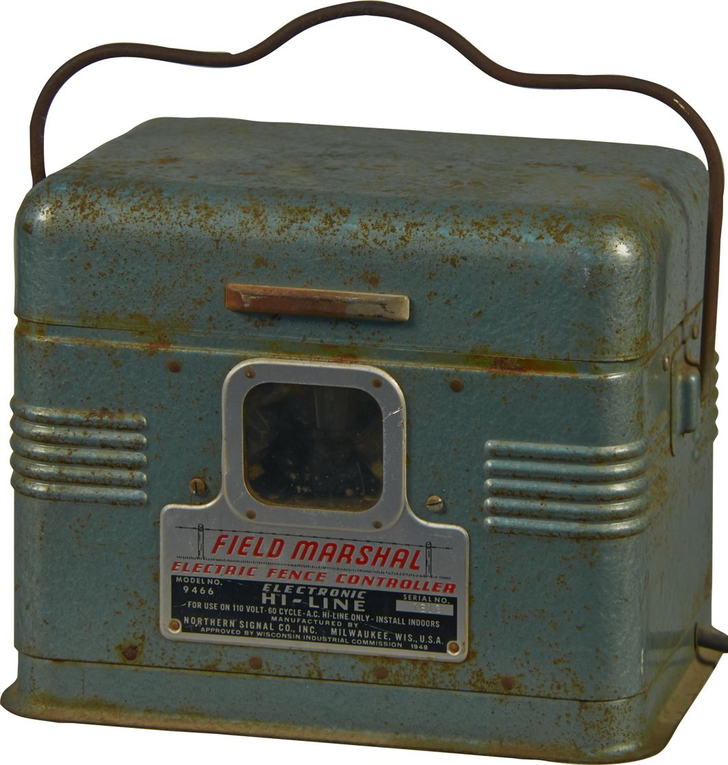Vintage Field Marshal Electric Fence Controller How To Install