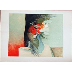 Claude Gaveau, Cherries, Signed Lithograph