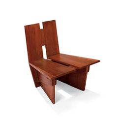 FRANK LLOYD WRIGHT Chair From The Auldbrass Plantation, C.