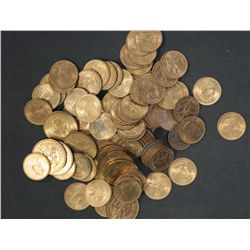 Cyprus 1955 3 Mils Brilliant Uncirculated 100 Coins