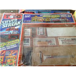 Tyco silver streak train set