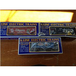 K line electric trains in box