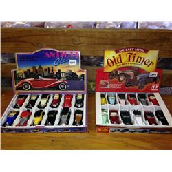 classic car collection 2 boxes