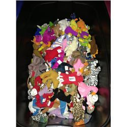 lot of ty beanie babies