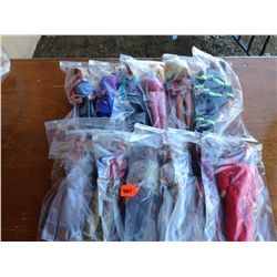 lot of 12 barbies