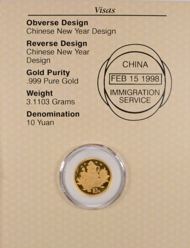 image 2 1997 110 oz chinese new year gold - Chinese New Year 1997