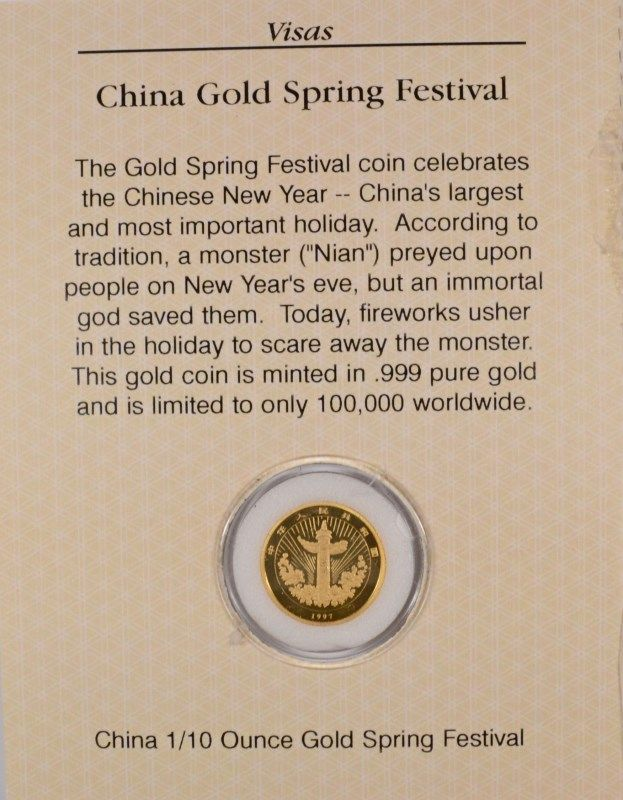 image 4 1997 110 oz chinese new year gold - Chinese New Year 1997