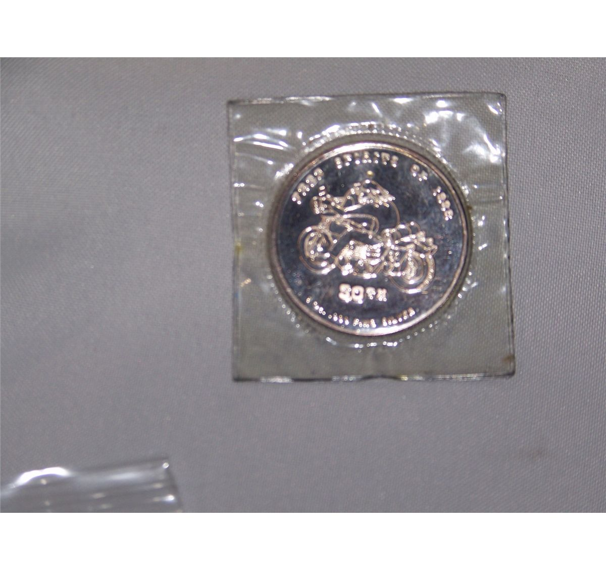 50TH ANNIVERSY STURGIS 1 OUNCE PURE SILVER .999 COLLECTIBLE COIN ...