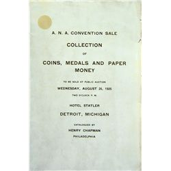 THE 1925 ANA CONVENTION SALE