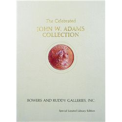 JOHN W. ADAMS COLLECTION HARDCOVER