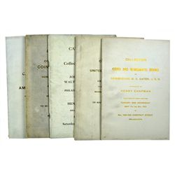SIX CHAPMAN CATALOGUES