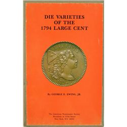 DIE VARIETIES OF 1794 CENTS