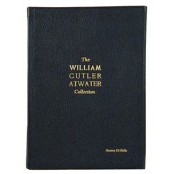 RARE DELUXE LEATHERBOUND ATWATER CATALOGUE