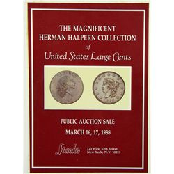 HARDCOVER HALPERN LARGE CENT SALE