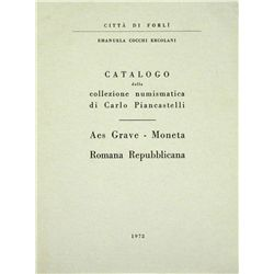 PIANCASTELLI CATALOGUES