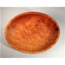 Oval Turned Bowl by Dale Larson