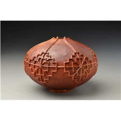 """""""Chengtu Offering Vessel"""" contemporary piece by J Paul Fennell"""