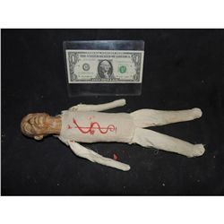 CHILD'S PLAY SCREEN USED VOODO DOLL CHUCKY KILLS THE PRIEST WITH