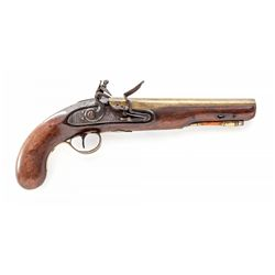 Bass Barreled Flintlock Pistol, by Patrick