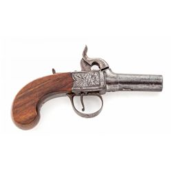 English Centerhammer Screw-Barrel Pistol, by Hill
