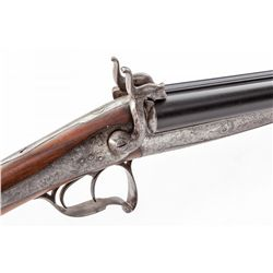 Antique Brun Au Donjon Pinfire Shotgun