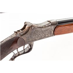 Stahl Martini Single Shot Schuetzen Rifle