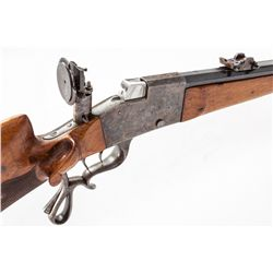 Franz Hardt Single Shot Schuetzen Rifle