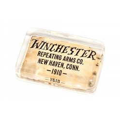 Winchester Glass Paperweight