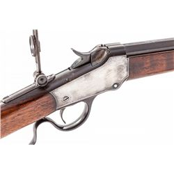 Antique Winchester Low-Wall Single Shot Rifle