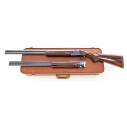 Bel. Browning Grade 1 O/U Two-Barrel Set