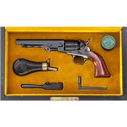 Cased Colt BPS Pocket Navy Perc. Revolver