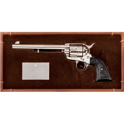 Colt 100th Ann. Frontier Six Shooter SA Revolver