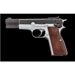 Tuned Browning Hi-Power Semi-Automatic Pistol