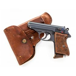WWII Era Walther PPK Semi-Automatic Pistol