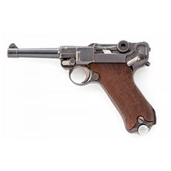 DWM dated Police Re-Work Luger