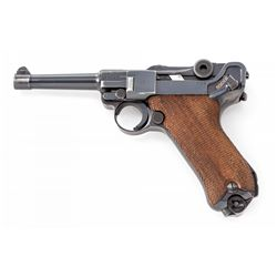 WWII Era Luger P.08 SA Pistol, by Mauser