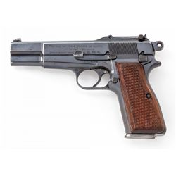 Pre-War Bel. Mil. Issue Browning P-35 SA Pistol