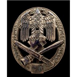 WWII German Army/Waffen SS Assault Badge